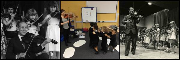 Suzuki method of teaching music